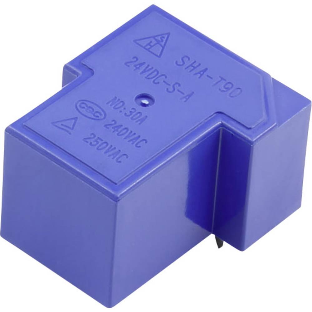 SHA-T90 SHA-24VDC-S-A 5pin Relej za tiskane pločice 24 V/DC 30 A 1 zatvarač 1 ST