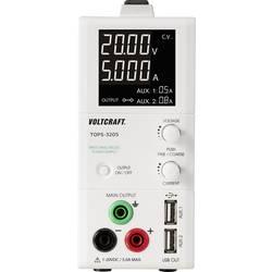 Laboratorieaggregat, justerbar VOLTCRAFT TOPS-3205 1 - 20 V/DC 3 x