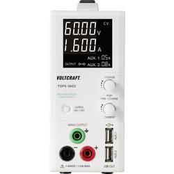 Laboratorieaggregat, justerbar VOLTCRAFT TOPS-3602 1 - 60 V/DC 3 x