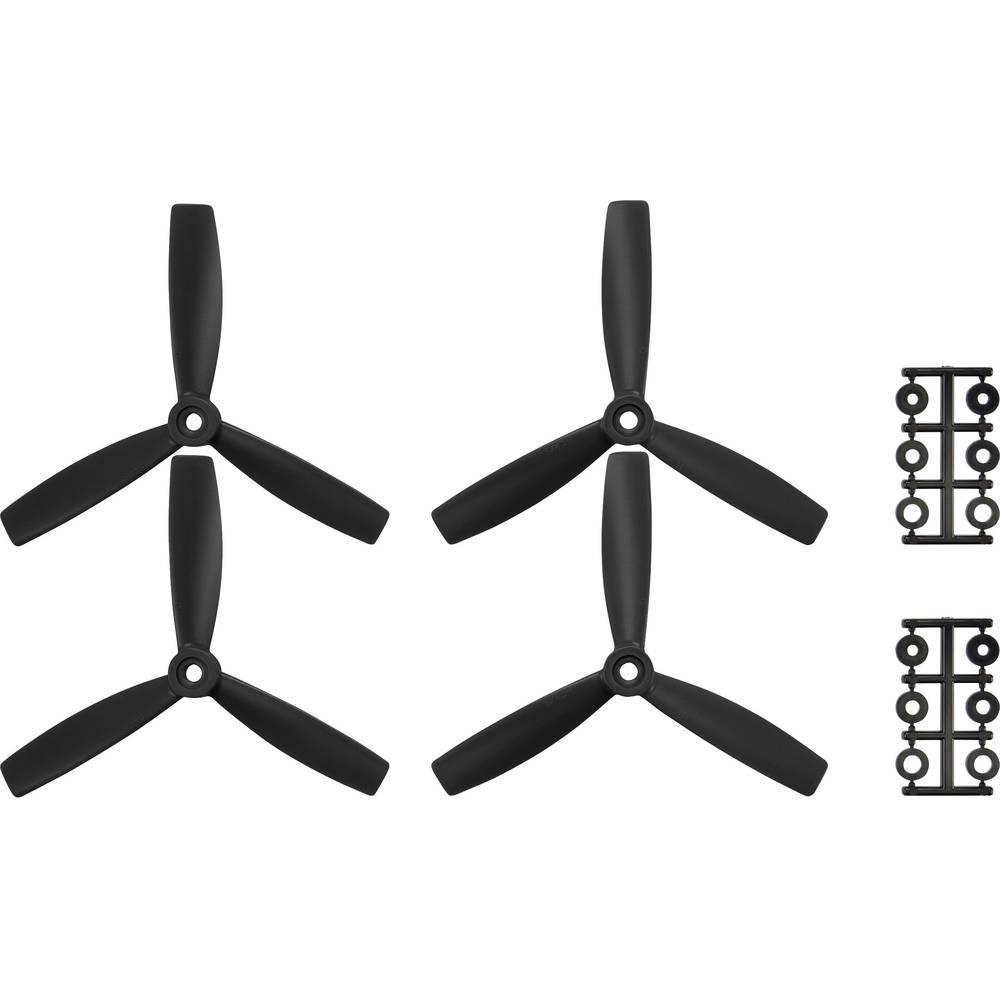 HQ Prop 3-lopatice Komplet propelera za trkaće koptere Radijusni 5 x 4