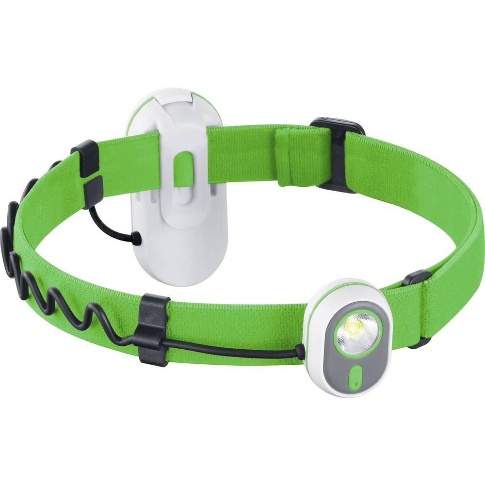LED svjetiljka za na glavu AS01 Alpina Sport na baterije zelena 3.7208