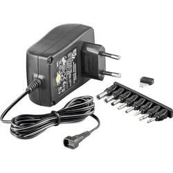 Vtični napajalnik, nastavljiv Goobay 53998 3 V/DC, 4.5 V/DC, 5 V/DC, 6 V/DC, 7.5 V/DC, 9 V/DC, 12 V/DC 2250 mA 27 W