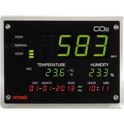 rotaronic CO2-Zaslon merilna naprava za plin CO2, relativno vlažnost in temperaturo