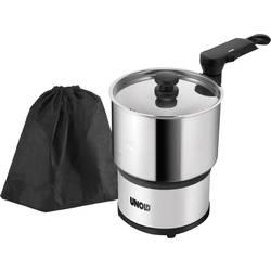 Rejse-el-koger Unold Hot Pot Rustfrit stål, Sort