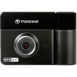 Automobilska kamera s GPS-om DrivePro 520 Transcend kut gledanja vodoravan=130 ° 12 V, 24 V Dual-Kamera, mikrofon, WLAN, baterij