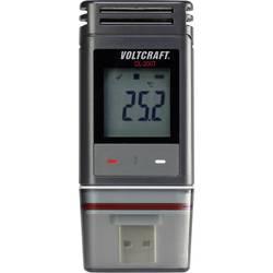 Temperatur-datalogger VOLTCRAFT DL-200T -30 till +60 °C PDF Funktion Kalibrerad enligt (ej certifierad kalibrering)