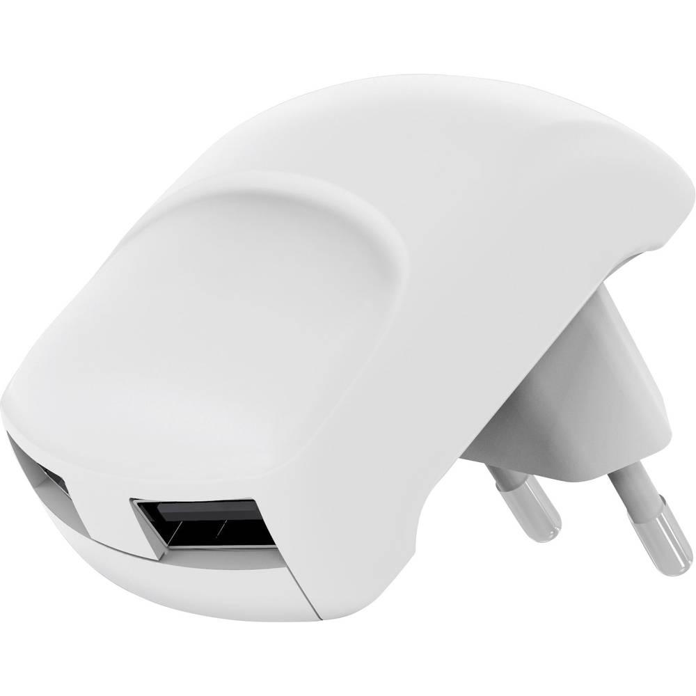 USB-vtični polnilnik Goobay 64022 izhodni tok (maks.) 2100 mA 2 x USB