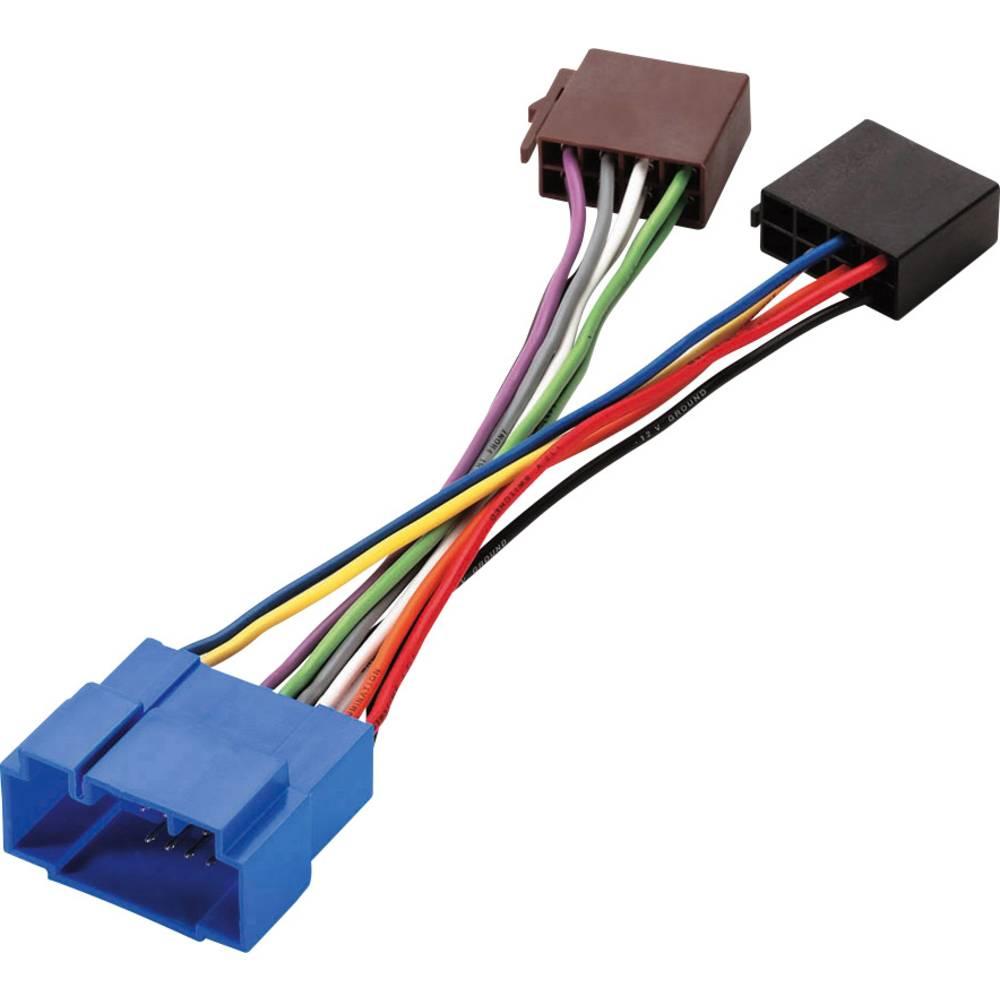Phonocar adapterski kabel ISO - Fiat/Honda/Nissan/Opel/Suzuki