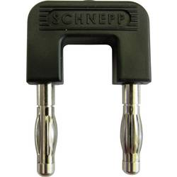 Kortslutningsstik Schnepp 19/4sw Stift-diameter: 4 mm 19 mm Sort 1 stk