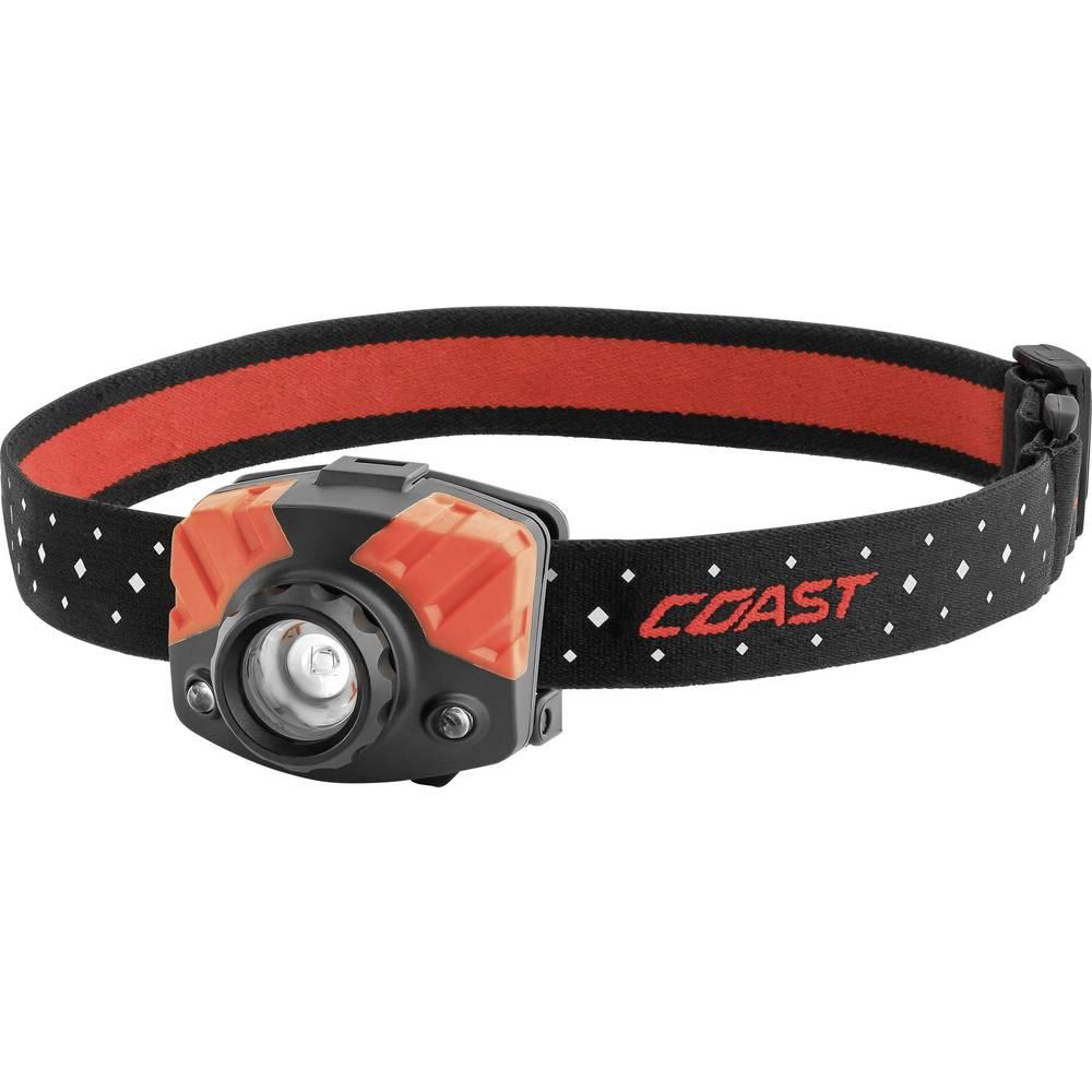 LED žaromet Coast FL 75 baterijski 105 g, črna, rdeča