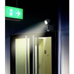 LED-zunanja svetilka s senzorjem gibanja 1 W nevtralno-bele barve renkforce Cadiz 1435591 črne barve