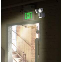 Zunanji LED reflektor z detektorjem gibanja 2 W nevtralno bela renkforce Cadiz črne barve