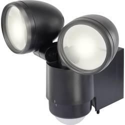 LED-udendørslyskaster med bevægelsessensor Renkforce Cadiz 10 W 900 lm Dagslyshvid Sort