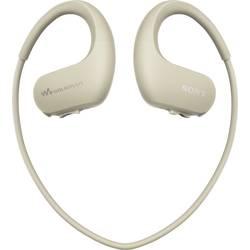 Športne slušalke Sony NW-WS413C In Ear MP3-Player, ušesna zanka, voodoodporne Creme