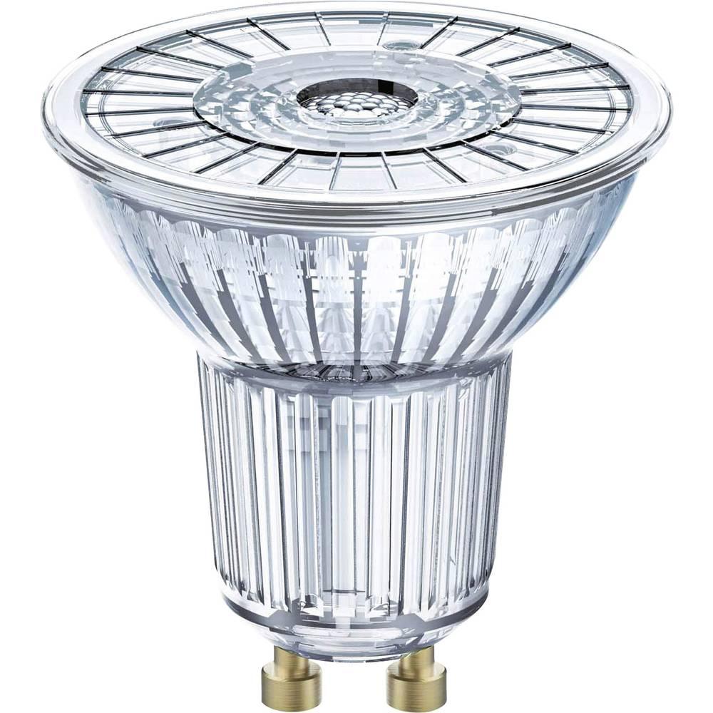 LED GU10 Reflektor 7.2 W = 80 W topla bela (p x D) 51 mm x 55 mm EEK: A+ OSRAM zatemnilna 1 kos