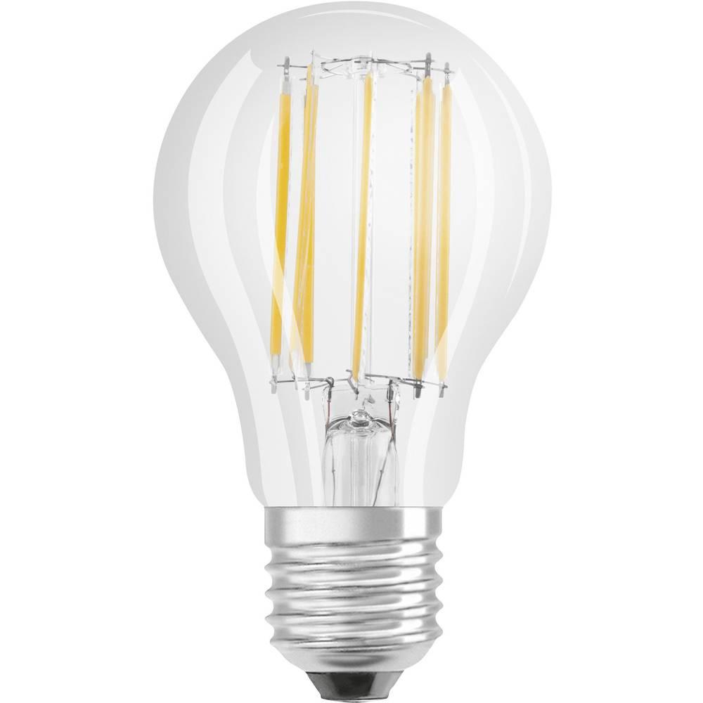 LED E27 klasična oblika 11 W = 95 W topla bela (p x D) 60 mm x 110 mm EEK: A+ OSRAM Filament 1 kos