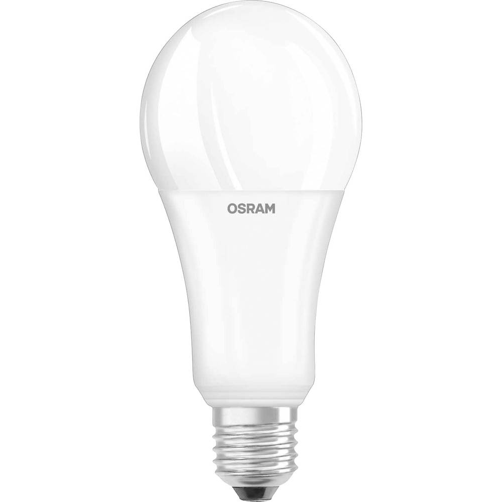 LED E27 klasična oblika 20 W = 150 W topla bela (p x D) 67 mm x 143 mm EEK: A+ OSRAM 1 kos