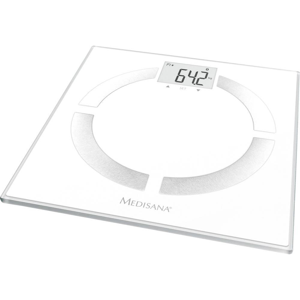 Vaga za tjelesnu analizu BS 444 Medisana connect raspon vaganja (maks.)=180 kg bijela