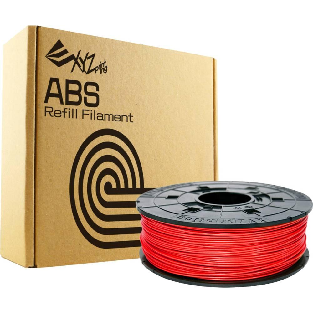 Filament XYZprinting ABS 1.75 mm rdeče barve 600 g ponovno napolnljiv