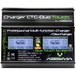Polnilnik za modeliranje 110 V, 230 V 10 A Absima CTC-Duo Touch svinec, LiFe, LiIon, LiPo, NiCd, NiMH
