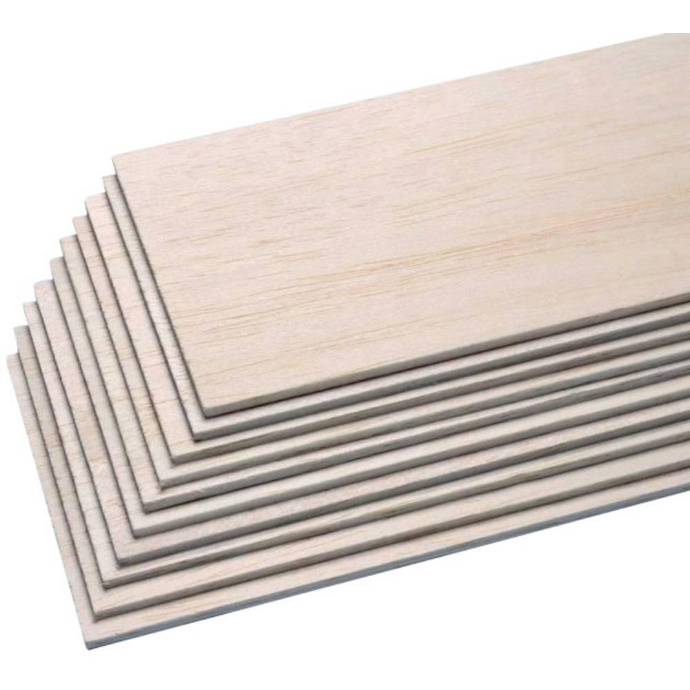 Pichler Balsa-plošča (D x Š x V) 1000 x 100 x 4 mm