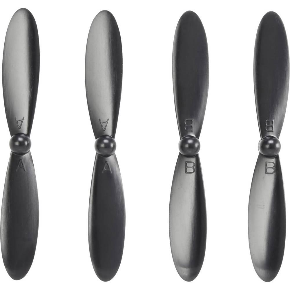Hubsan Komplet propelerjev za multikopter Primerno za: Hubsan X4 CAM Plus, Hubsan X4 FPV Plus