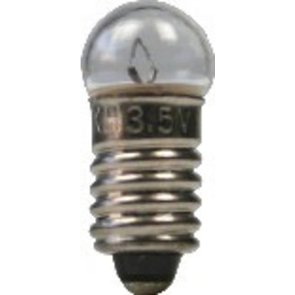 Žaruljica 0.25 W podnožje=E5.5 100 mA 2.5 V čista BELI-BECO sadržaj: 1 kom.