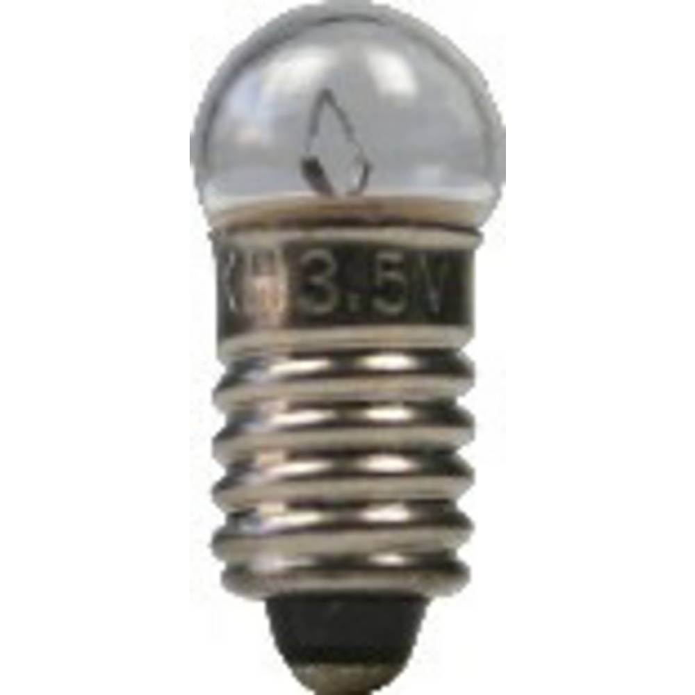 Žaruljica 0.15 W podnožje=E5.5 100 mA 1.5 V čista BELI-BECO sadržaj: 1 kom.
