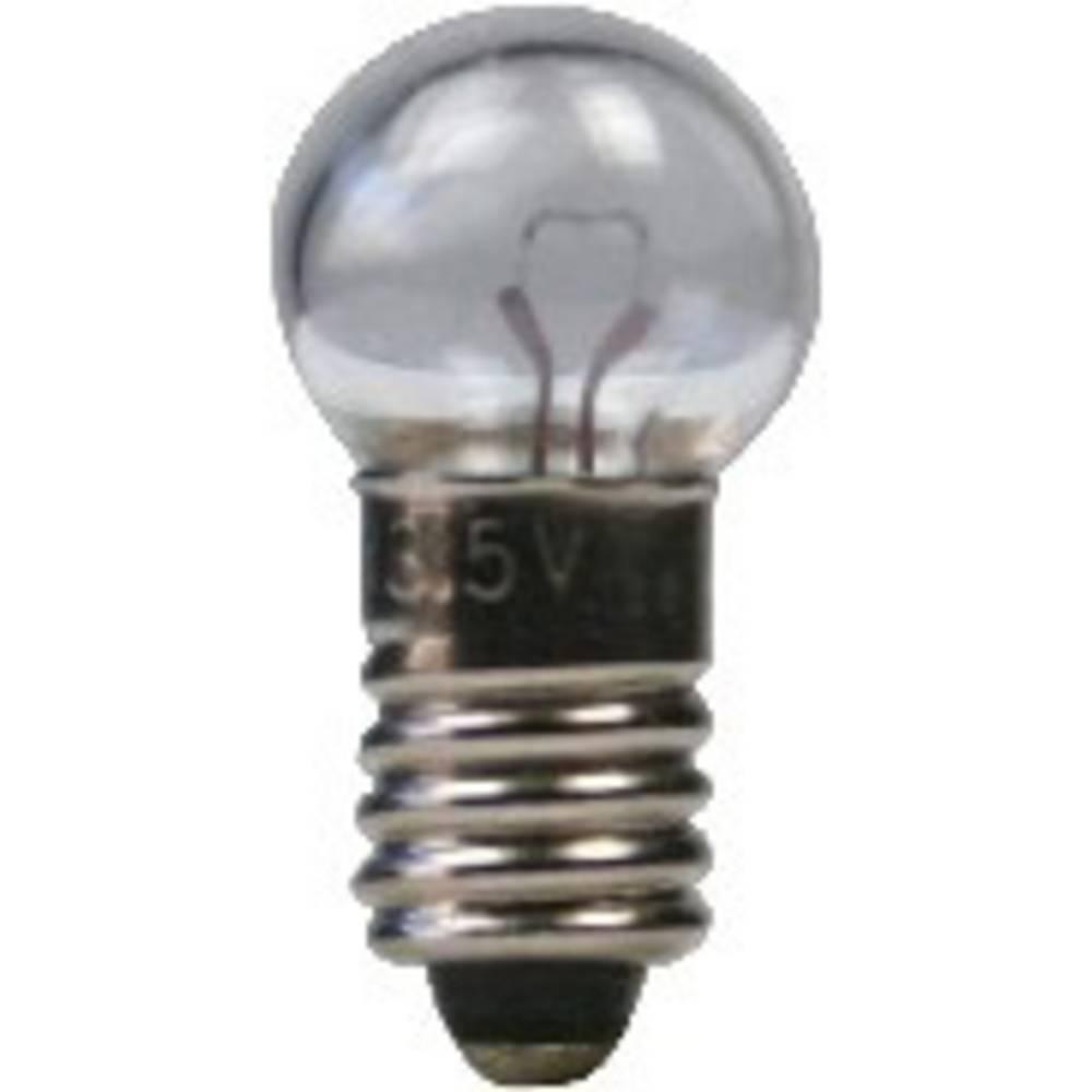 Žaruljica 0.6 W podnožje=E5.5 100 mA 6 V čista BELI-BECO sadržaj: 1 kom.
