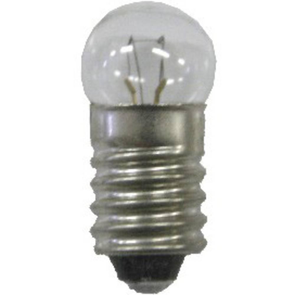 Žarnica 3.5 V 0.7 W 200 mA podnožje= E10 čista BELI-BECO vsebina: 1 kos