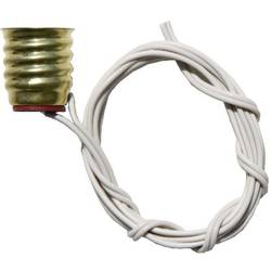 Vtičnica za svetilko, mostični vtič izoliran, vijačni priključek E10