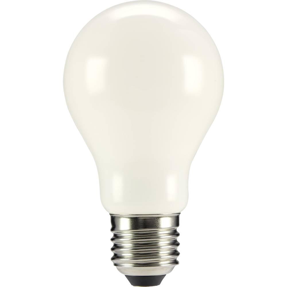 LED žarulja (jednobojna) sygonix 230 V E27 4 W = 40 W topla bijela KEU: A++ klasičan oblik (promjer x D) 60 mm x 105 mm filament