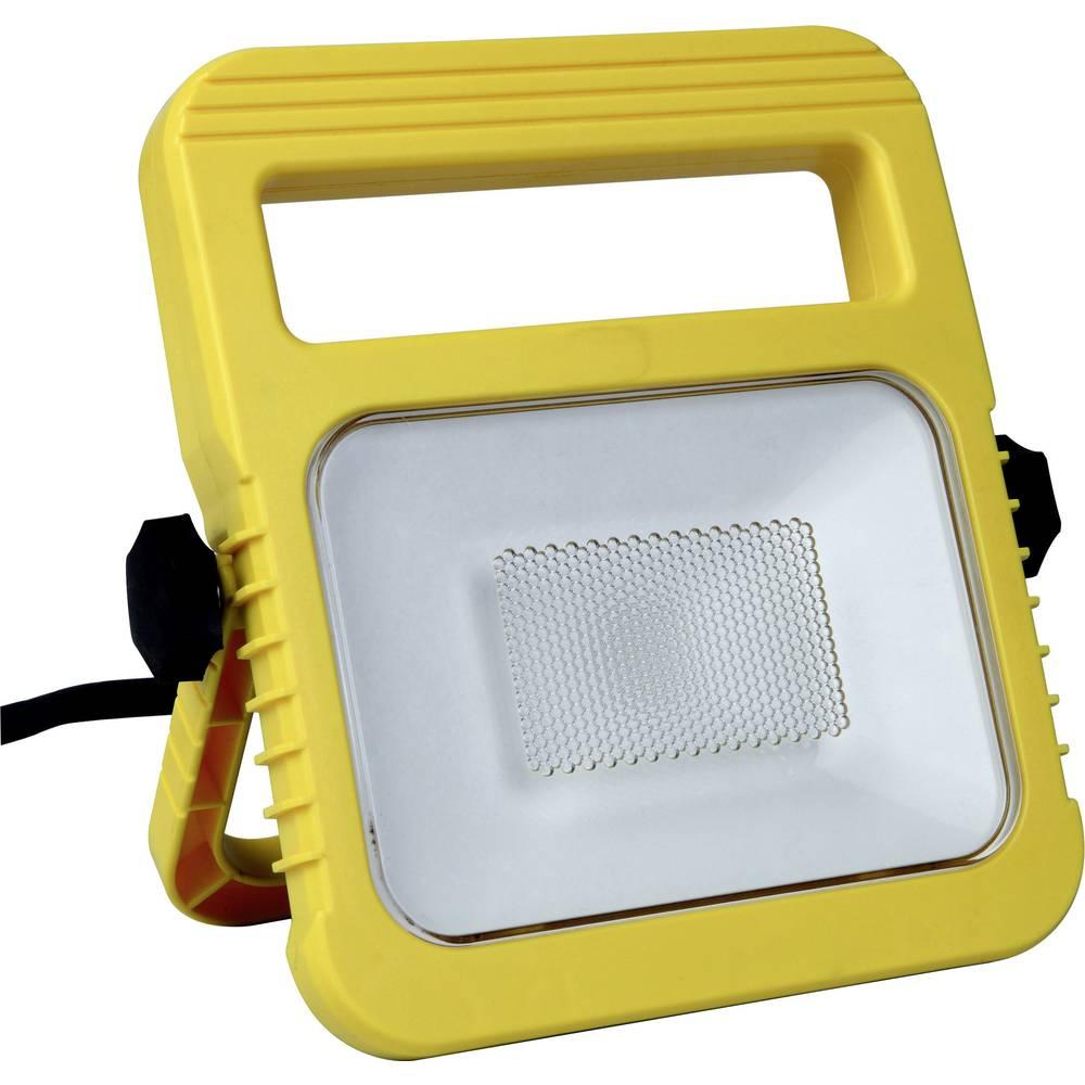 Lutec delovni LED reflektor Utin 6297-5K YE LED rumena LED fiksno vgrajena