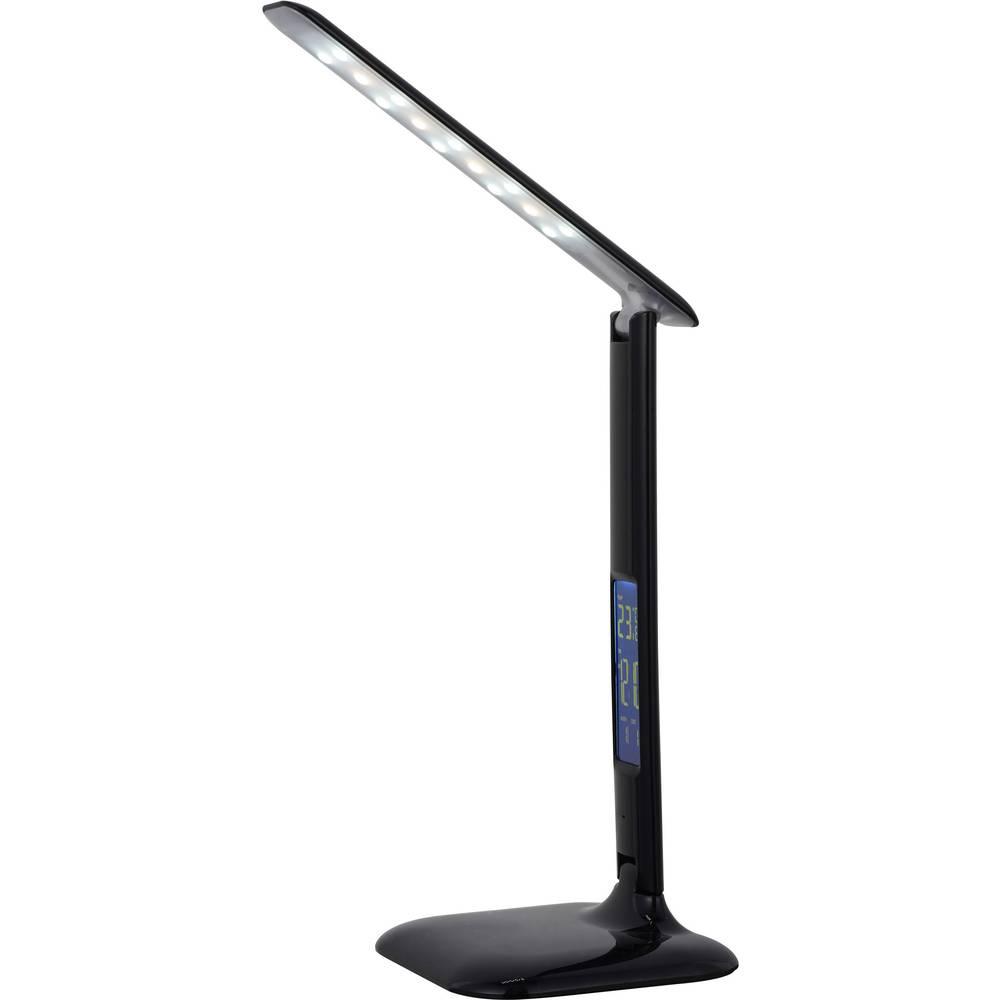 LED stolna svjetiljka 5 W toplo-bijela, hladno-bijela, dnevnosvjetlo-bijela G94871/06 Brilliant Glenn crna