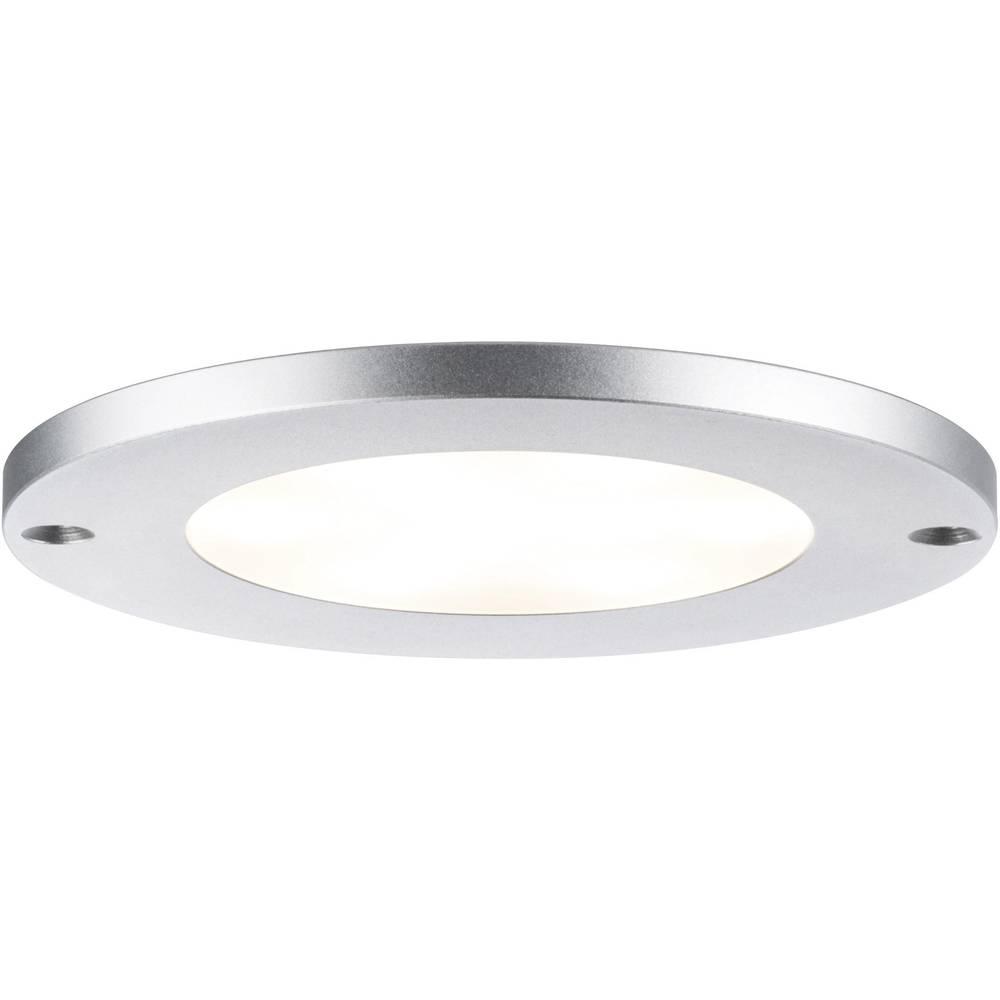 Nadgradna LED svjetiljka Leaf 93562 Paulmann 12 W toplo-bijelo svjetlo aluminij (brušeni) komplet od 3 komada