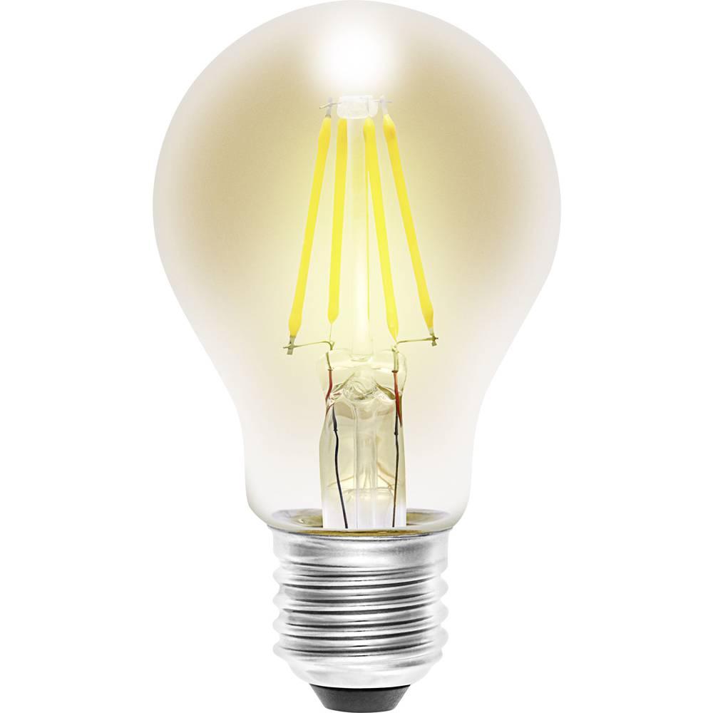 LED žarnica E27 klasična oblika 4 W = 35 W topla bela (premer x D) 60 mm x 105 mm EEK: A++ Sygonix filament 1 kos