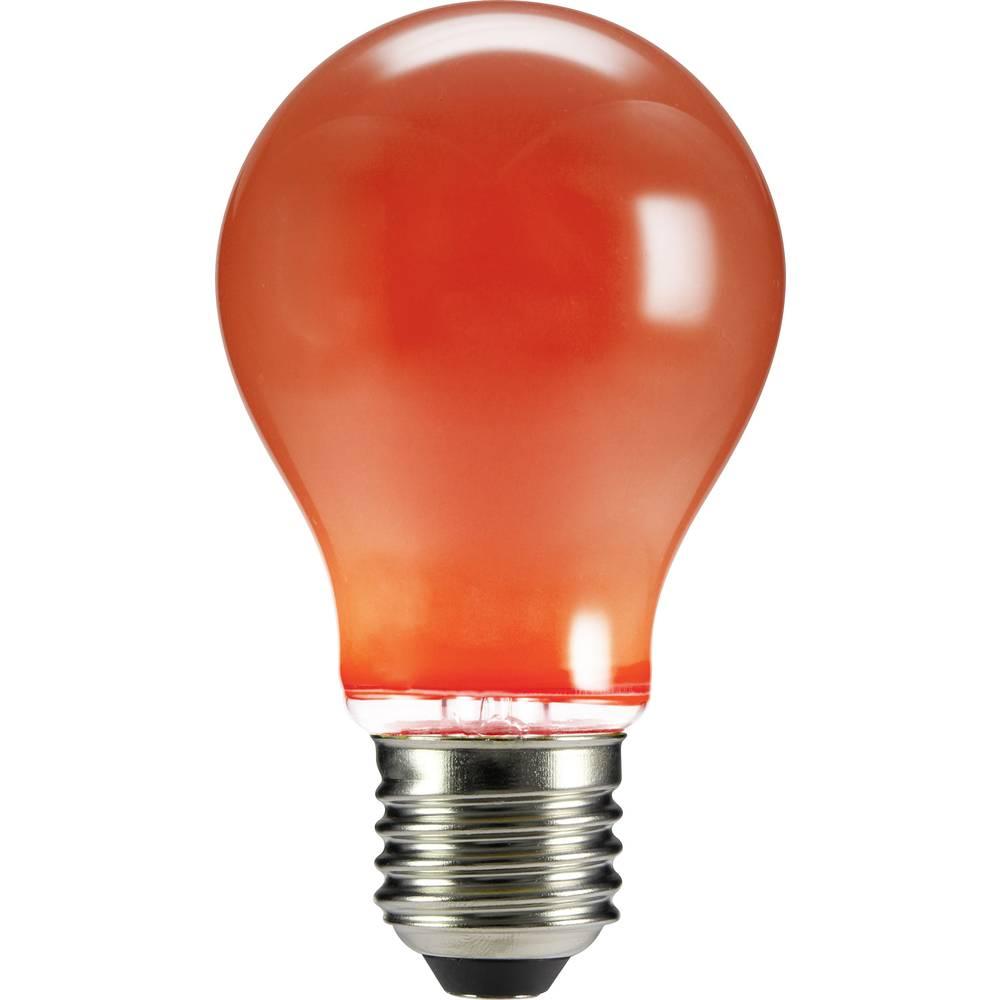 LED žarulja (jednobojna) sygonix 230 V E27 4 W crvena KEU: n.rel. klasičan oblik (promjer x D) 60 mm x 105 mm filament 1 kom.