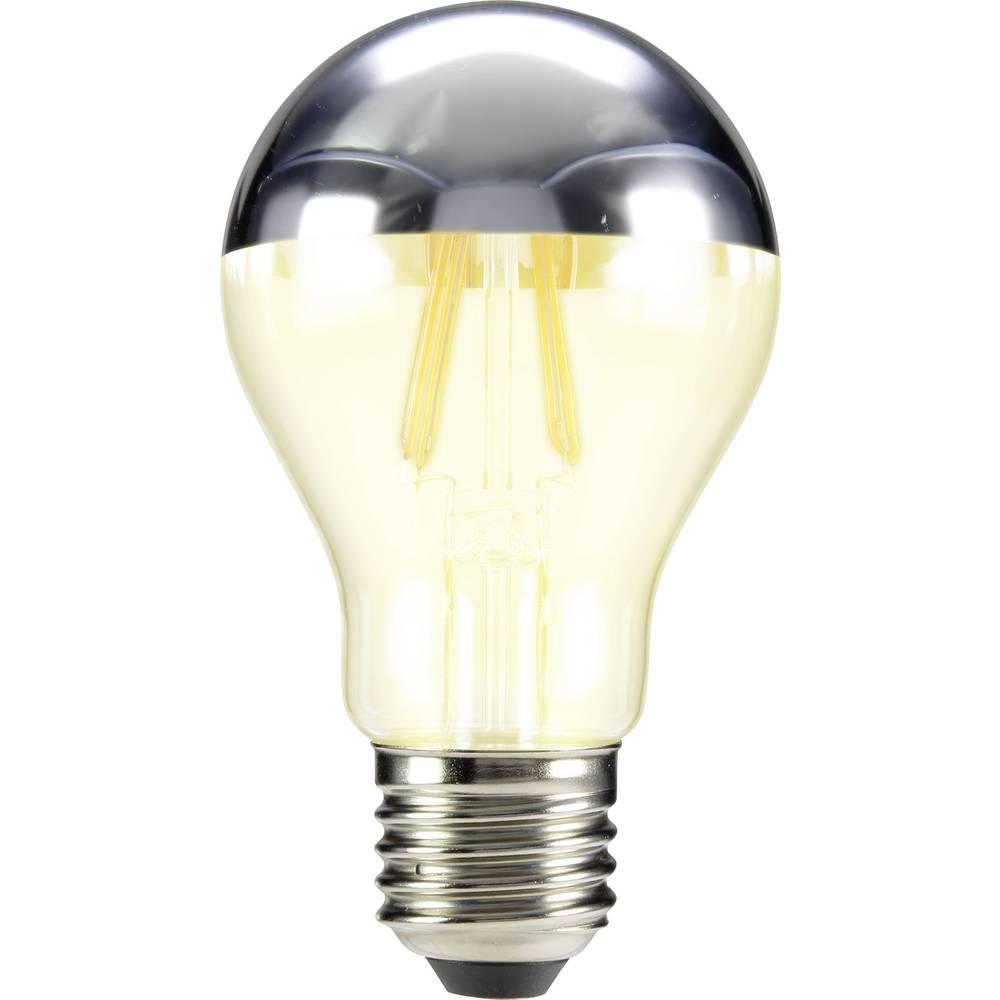 LED žarulja (jednobojna) sygonix 230 V E27 5 W = 46 W topla bijela KEU: A++ klasičan oblik (promjer x D) 60 mm x 105 mm filament