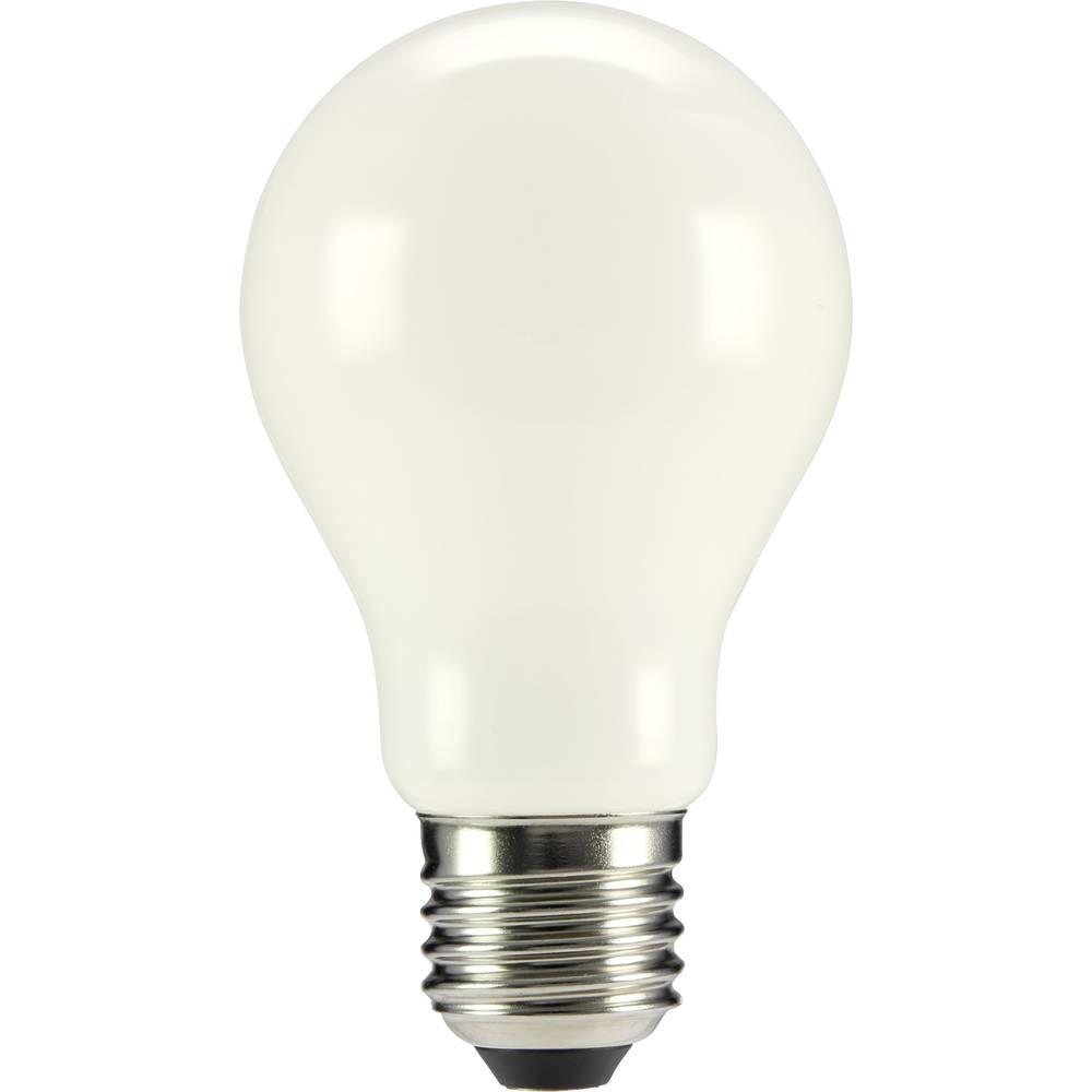 LED žarulja (jednobojna) sygonix 230 V E27 6 W = 55 W topla bijela KEU: A++ klasičan oblik (promjer x D) 60 mm x 105 mm filament