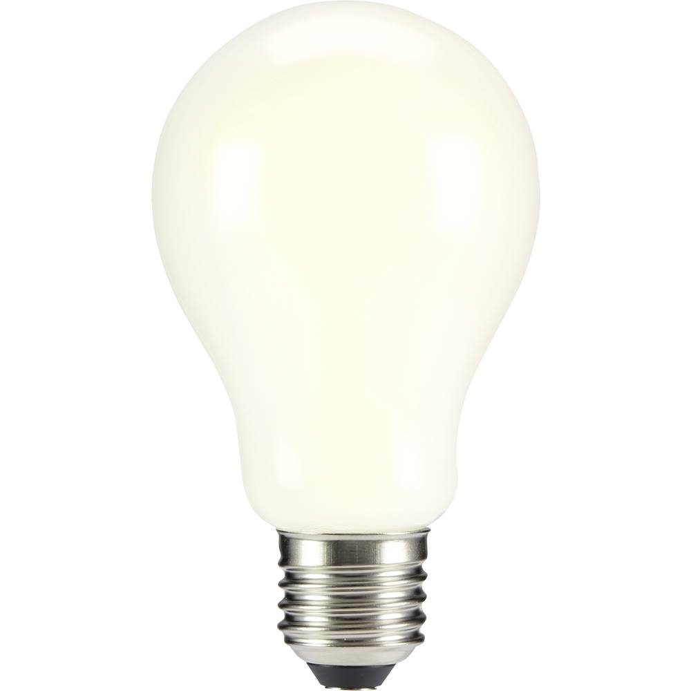LED žarnica E27 klasična oblika 8 W = 68 W topla bela (premer x D) 67 mm x 118 mm EEK: A++ Sygonix filament 1 kos