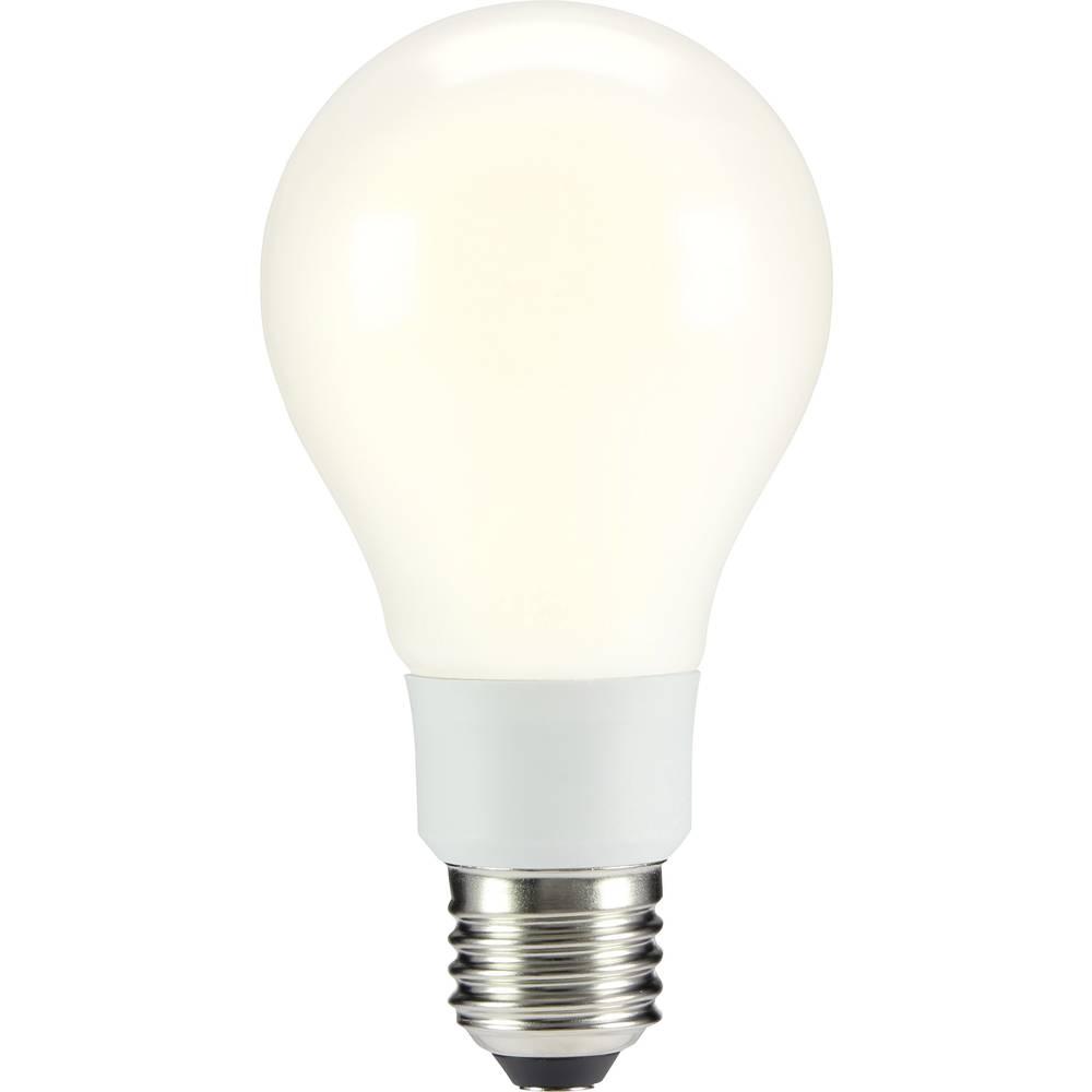 LED žarulja (jednobojna) sygonix 230 V E27 12 W = 91 W topla bijela KEU: A++ klasičan oblik (promjer x D) 67 mm x 130 mm 1 kom.