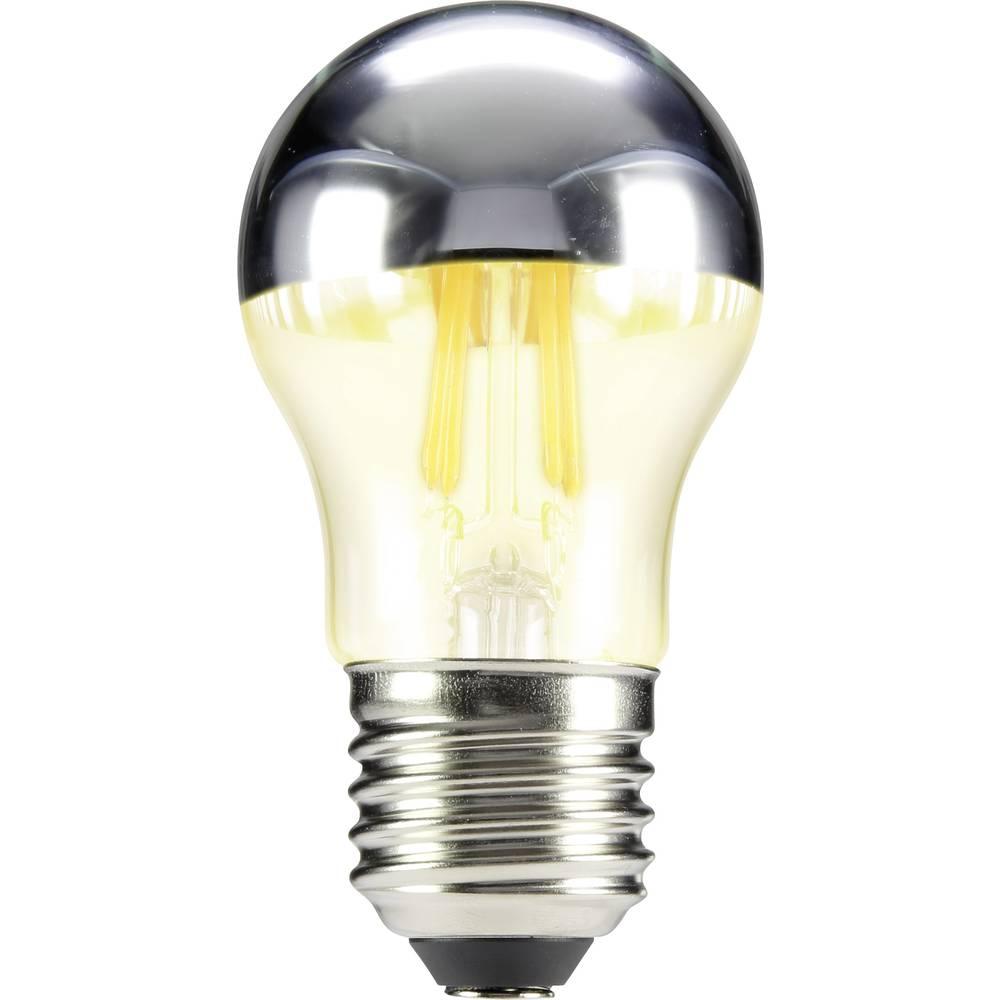 LED žarnica E14 oblika kaplje 4 W = 33 W topla bela (premer x D) 45 mm x 84 mm EEK: A++ Sygonix filament 1 kos