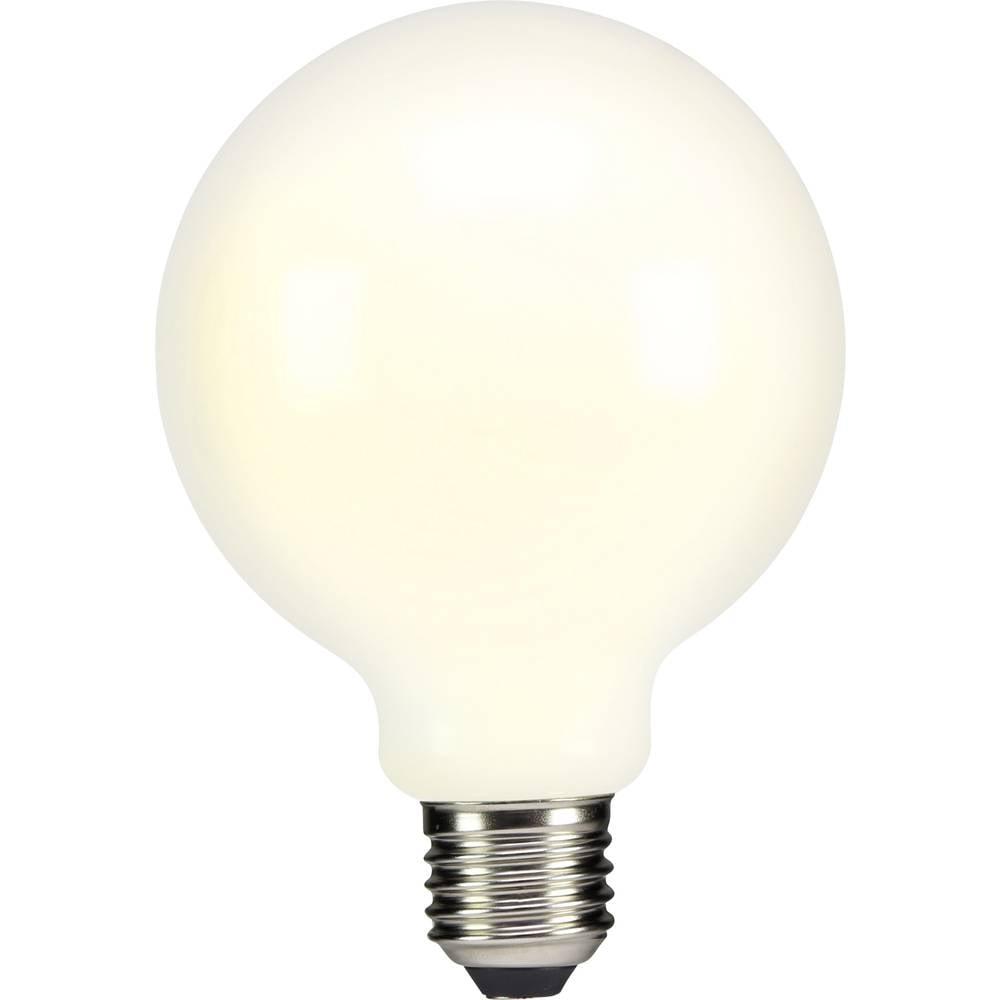 LED žarulja (jednobojna) sygonix 230 V E27 4 W = 37 W topla bijela KEU: A++ okrugli oblik (promjer x D) 95 mm x 135 mm 1 kom.