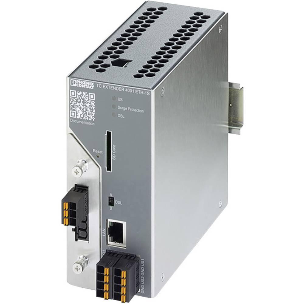 Phoenix Contact Managed Ethernet-razširitvena naprava TC EXTENDER 4001 ETH-1S 2702253 10 - 60 V/DC