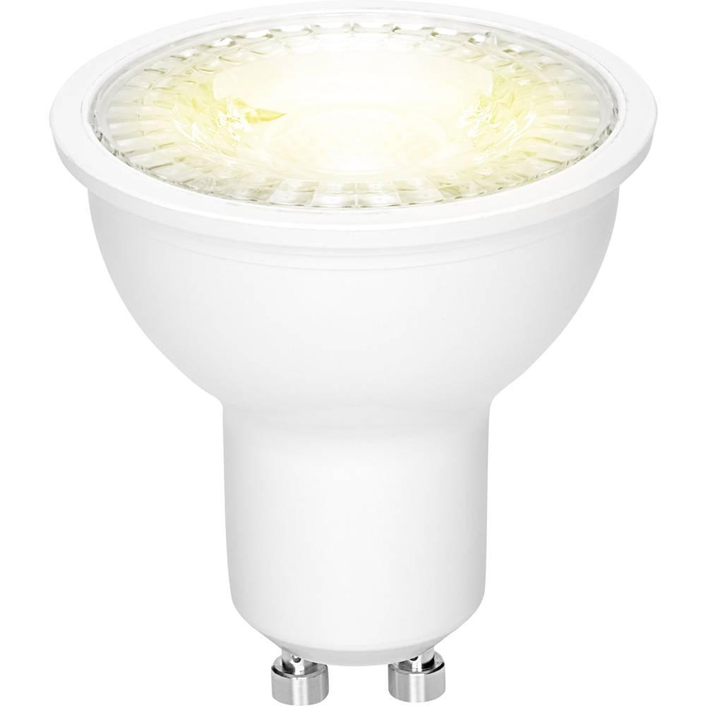 LED žarnica GU10 reflektorska 3.6 W = 38 W topla bela (premer x D) 50 mm x 54 mm EEK: A+ Sygonix 1 kos