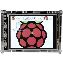 Raspberry Pi® kućište akrilno staklo bistro 3.2TC Raspberry Pi® B+, Raspberry Pi® 2 B, Raspberry Pi® 3 B