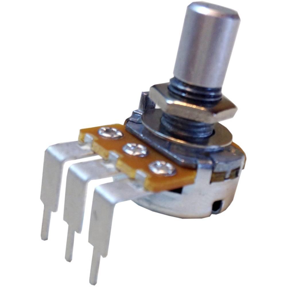 Vrtljivi potenciometer Mono 0.5 W 50 k Potentiometer Service GmbH RV16AF-41-15R1-A50k 1 kos