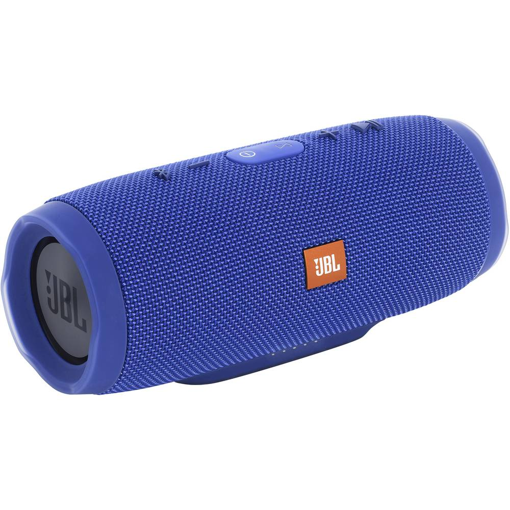 Bluetooth® zvočnik JBL Harman Charge 3 s funkcijo prostoročno govorjenje, odporen na špricano vodo modra