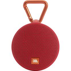 Bluetooth® zvočnik JBL Harman Clip 2 s funkcijo prostoročno govorjenje, odporen na špricano vodo rdeča