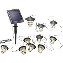 Solcellelyskæde Esotec Asia Style Lygte; LED Varm hvid 6 m Außen (value.1336641) solcelle-drift